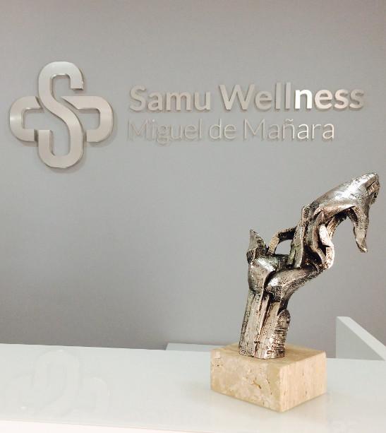 Recepción SAMU Wellness
