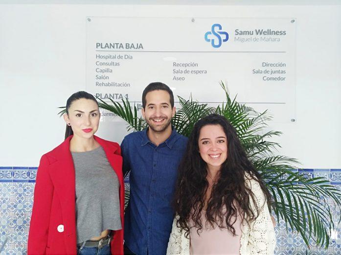 psicólogos en práctica en la clínica de salud mental en Sevilla SAMU Wellness