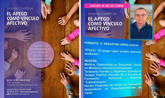 Jornada de apego clínica de salud mental en Sevilla SAMU Wellness Sebastián Girón