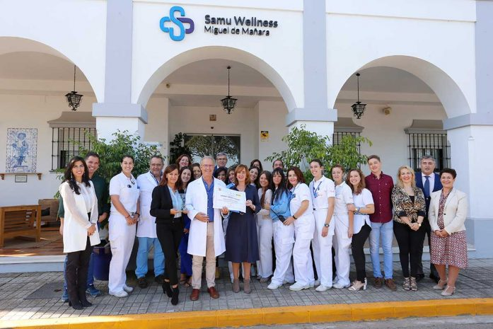 Premio Empresa con Alma Samu Wellness
