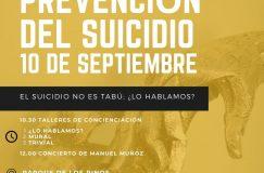 Cartel del Encuentro por la Prevención del Suicidio de SAMU Wellness